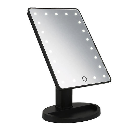 LED Desktop Mirror