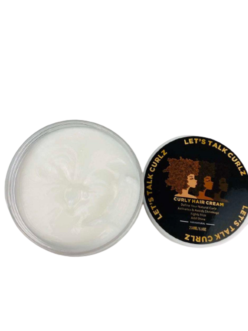 Curling Hair Cream