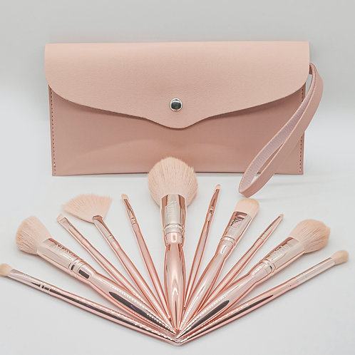 Rose Gold Brush Set