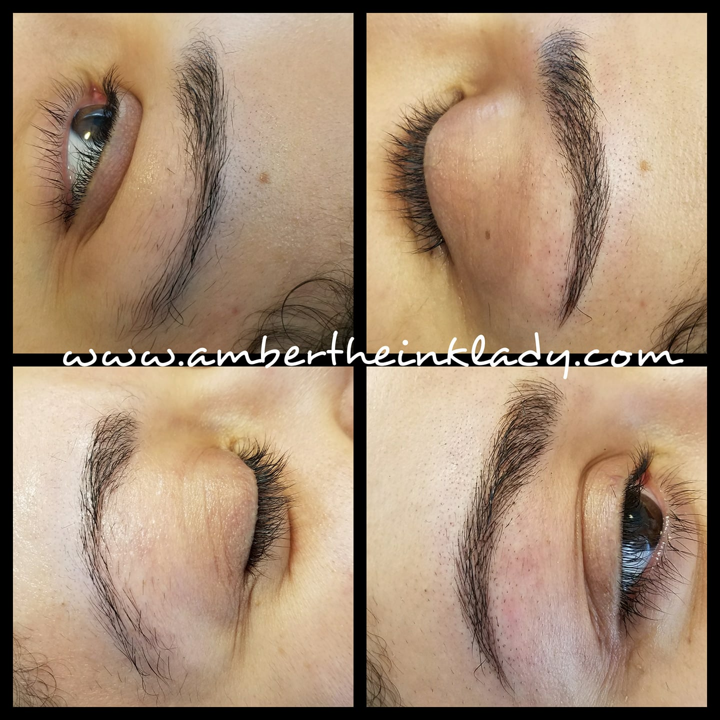 Micro bladed brows