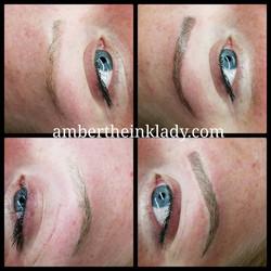 Micro blade eyebrows