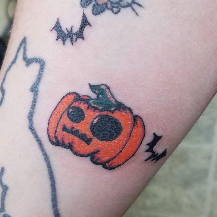 fun pumpkin (& bats)