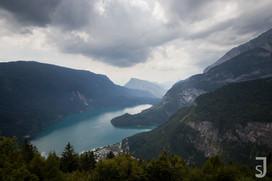Lago di Molveno (von oben)