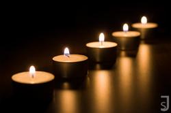 fünf Kerzen (oben)