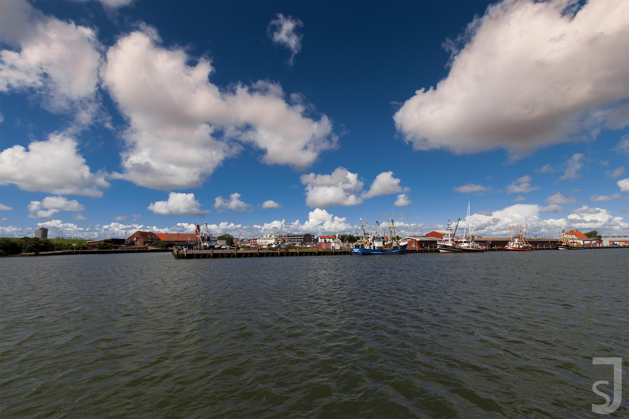 Hafen (Weitwinkel), Büsum