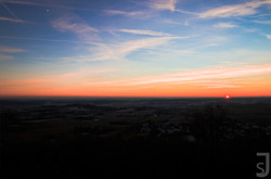 Sonnenuntergang Altenburg, Bamberg