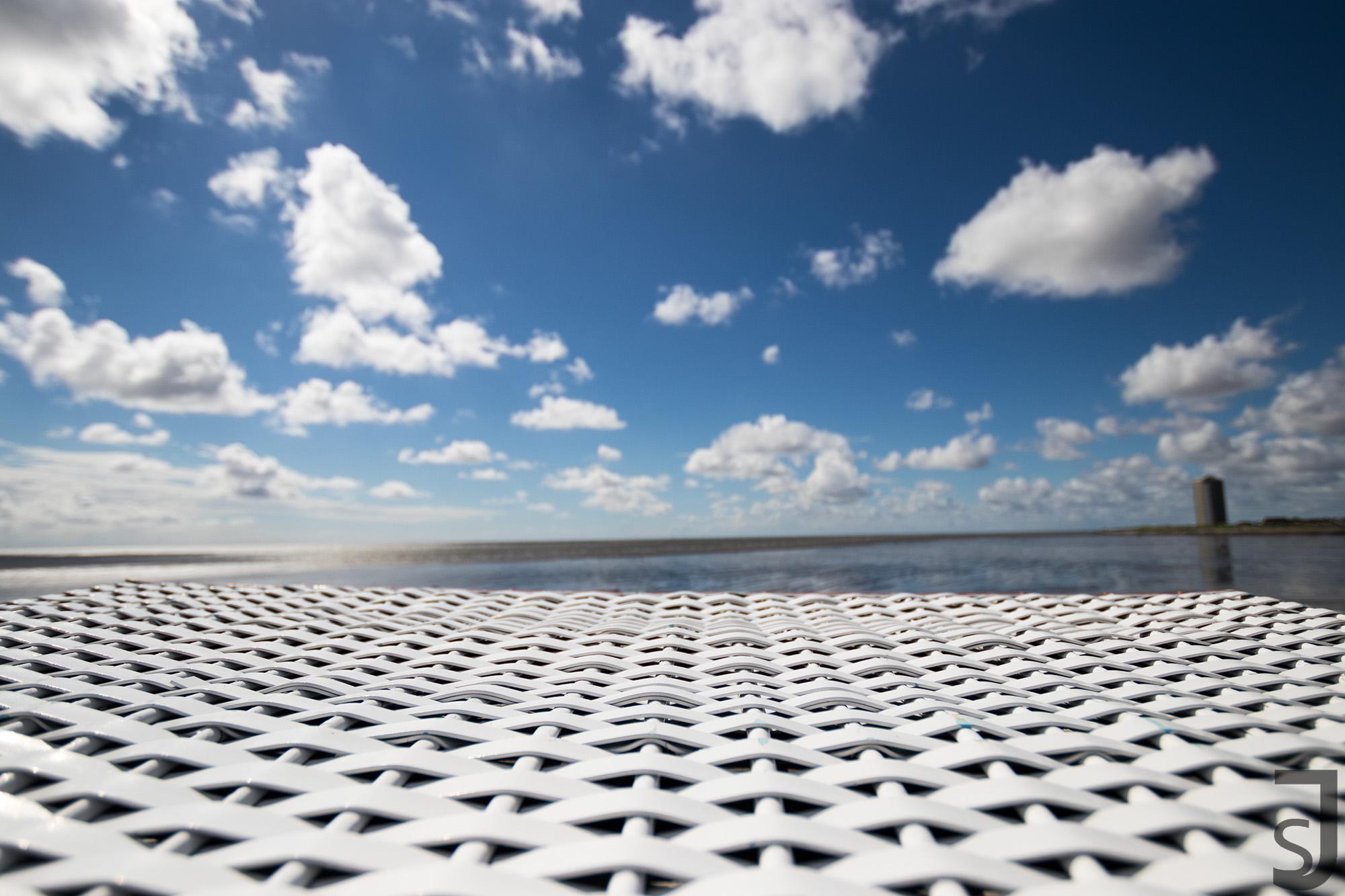 Strandkorb (Dach), Büsum