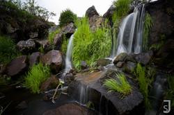 Paradiesischer Wasserfall Eisgraben