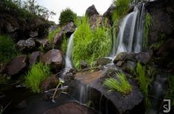 Paradiesischer Wasserfall