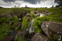 Eisgraben Wasserfall von oben