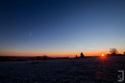 Sonnenaufgang am Heidelstein