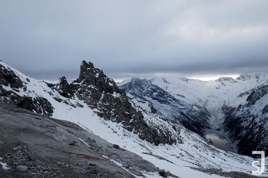 Winter in den Bergen (Schlegeis)