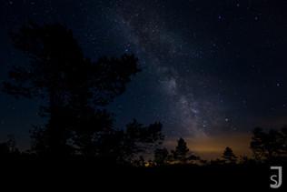 Milchstraße über der Rhön