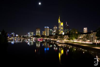 Frankfurt bei Nacht (Main)