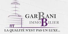 logo  Garbani immobilier Sàrl, courtage, gérance, location, mandat de recherche