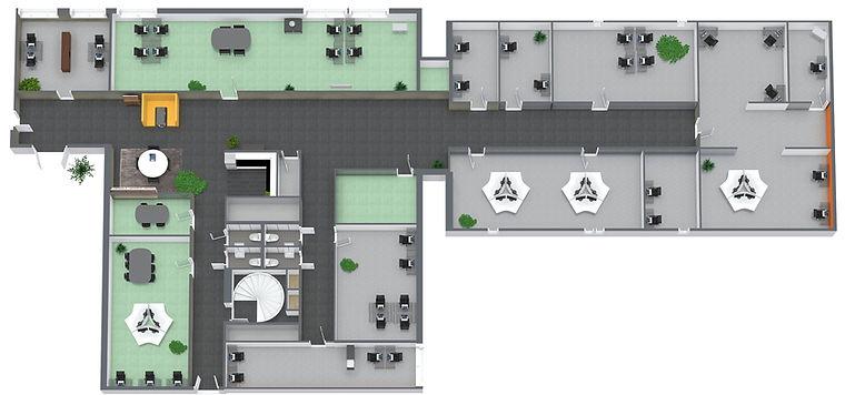 B13.B2 SAJA FLEX - 2. Etasje - 3D Floor