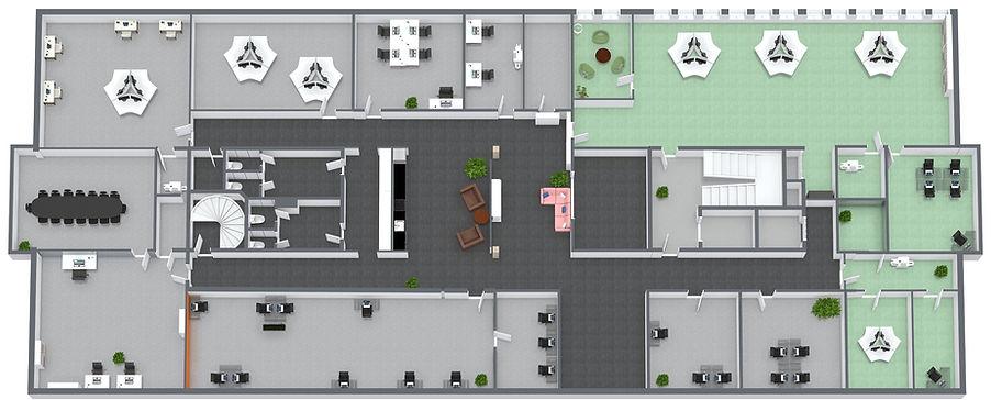 B3.A3 SAJA FLEX - 3. Etasje - 3D Floor P