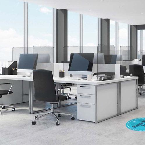 Glass Desk Screens