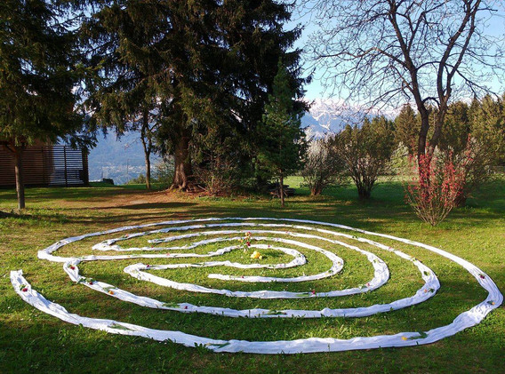 Labyrinth Fülle des Lebens