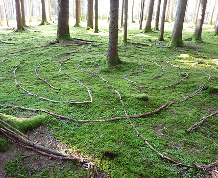 klassisches Labyrinth