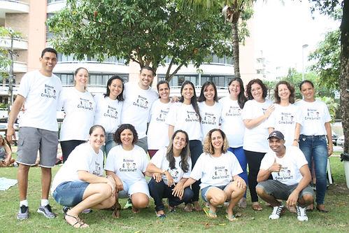 Imgem da Equipe Ceadi na Praça Ana Lúcia Magalhães