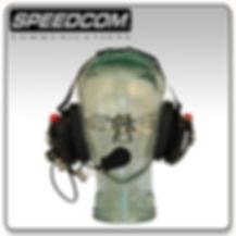 speedcom racing behind the head headset bth crew chief