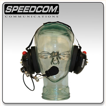 speedcom racing behind the head headset bth crew chief