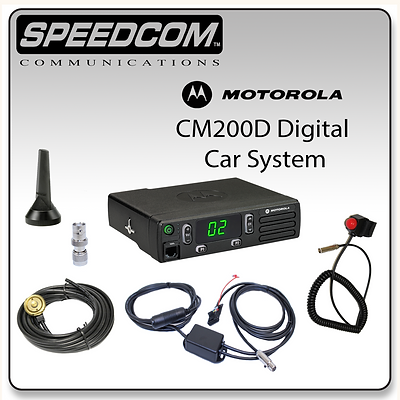 Motorola CM200D Digital System Racing Radios Communication