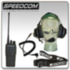 Motorola CP200D Digital Crew System Headset
