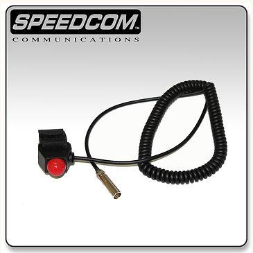 velcro mount push to talk switch racing radios communication car ptt imsa nascar