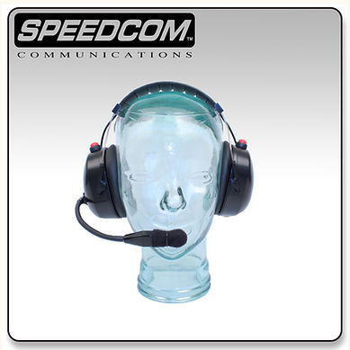 speedcom racing over the head headset oth crew chief spotter