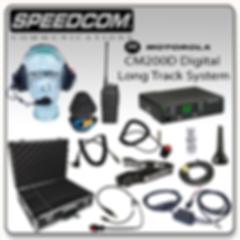 Motorola CM200D Digital Mobile Pro Long Track System Racing Radios Communication