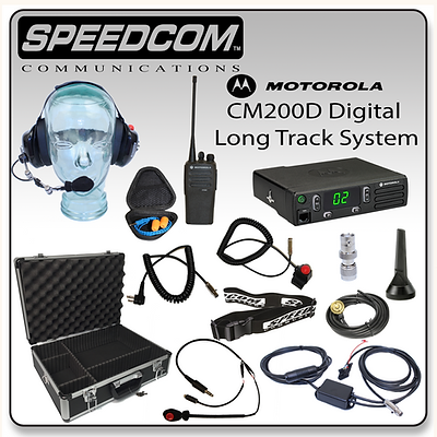 Motorola CM200D Digital Mobile Pro Long Track System Racing Radios Communication