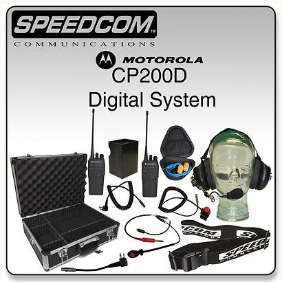 Motorola CP200D Digital Short Track System Racing Radios