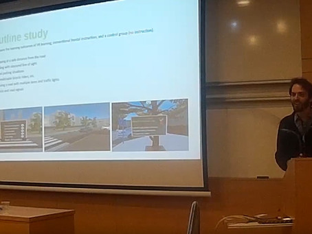 StreetWize VR Research presented at IsraHCI