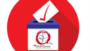 Proceso Electoral COLEFC 2021. Sorteo Público Junta Electoral