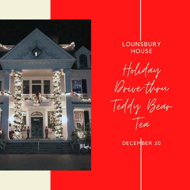 Lounsbury Teddy Drive Through