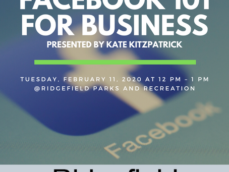 Facebook 101 for Business Seminar Comes to Ridgefield
