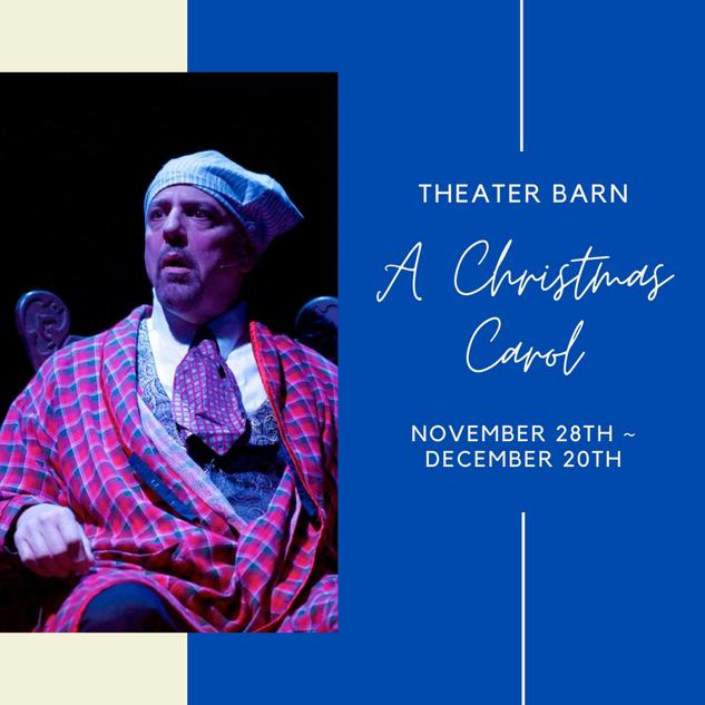 Theater Barn Christmas Carol