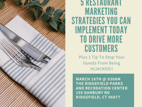 Marketing Help for Ridgefield Restaurants