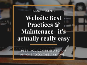 Website Best Practices & Maintenance
