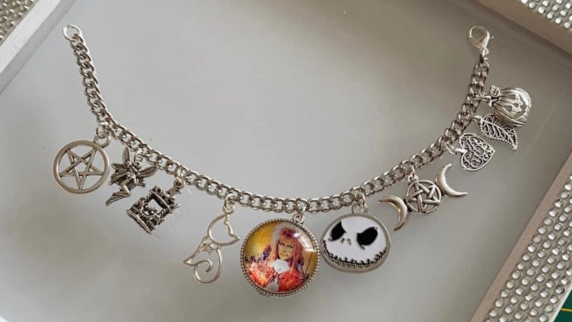 Labyrinth inspired bracelet