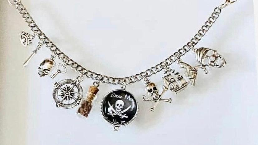 Pirates of the Caribbean inspired bracelet