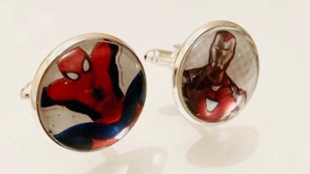 Marvel inspired cuff links