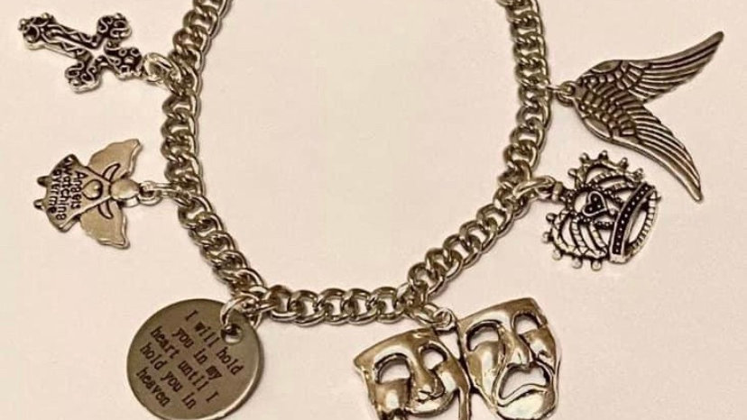 Hold you on my heart inspired bracelet