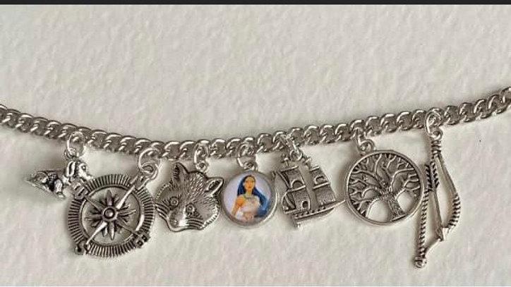 Pocahontas inspired bracelet
