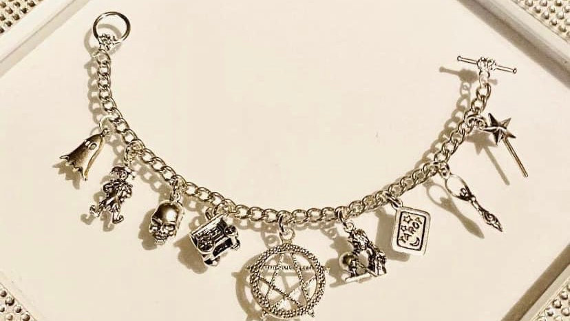 Tarot cards bracelet