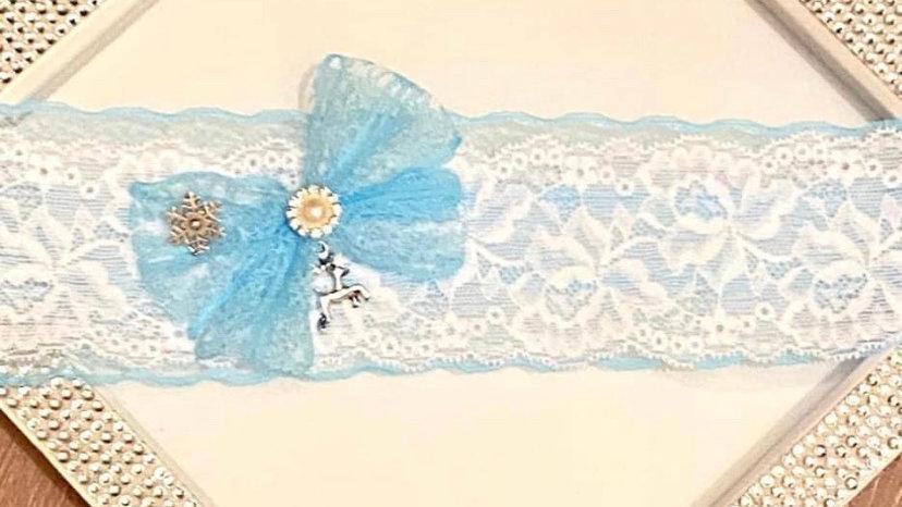 Frozen themed garter