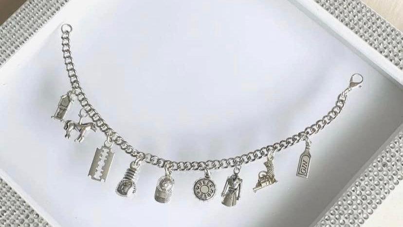 Peaky  blinders inspired bracelet