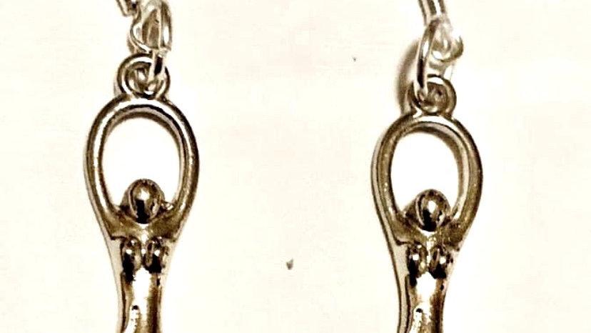 Goddesses earrings
